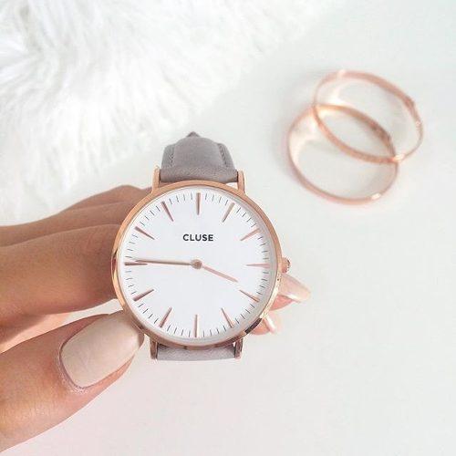 reloj,de,lujo,cluse,watch,la,boheme,rose,